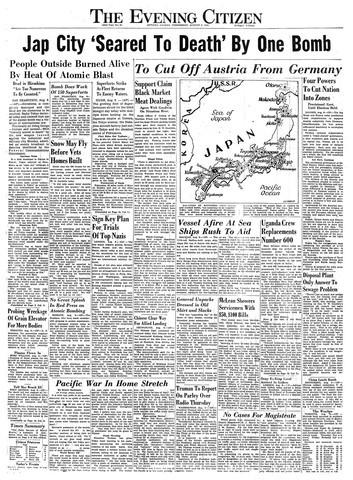 Chùm ảnh độc thảm họa hạt nhân Hirosima 70 năm trước ảnh 57