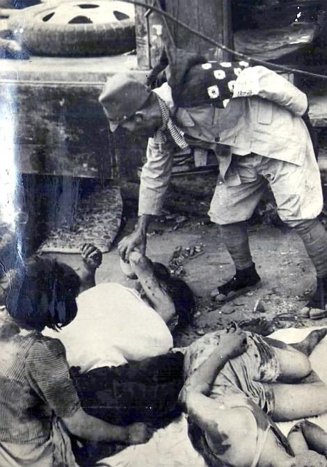 Chùm ảnh độc thảm họa hạt nhân Hirosima 70 năm trước ảnh 43