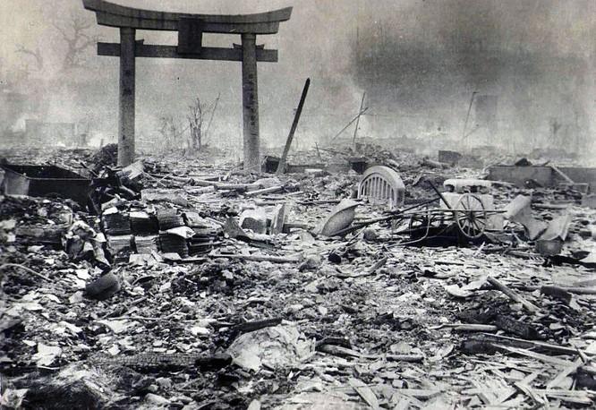 Chùm ảnh độc thảm họa hạt nhân Hirosima 70 năm trước ảnh 45