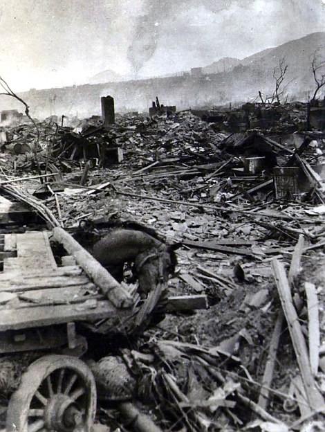 Chùm ảnh độc thảm họa hạt nhân Hirosima 70 năm trước ảnh 50
