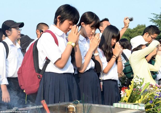 Chùm ảnh độc thảm họa hạt nhân Hirosima 70 năm trước ảnh 63