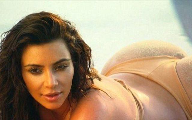 """Nóng bỏng mỹ nhân Kim Kardashian """"siêu vòng ba"""" ảnh 29"""