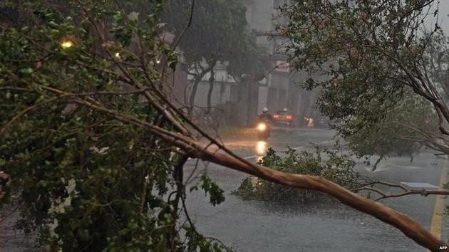 Đài Loan tơi bời trong bão, Trung Quốc sơ tán 158.000 dân ảnh 1
