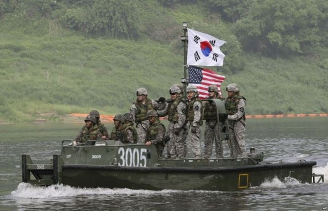 Những lực lượng uy mãnh của hải quân Hàn Quốc ảnh 1
