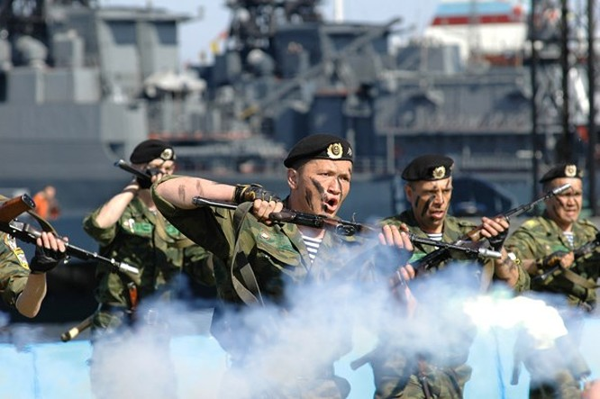 Hải quân đánh bộ Nga – Mạnh hơn nguyên tử ảnh 9