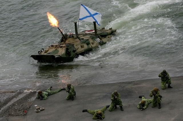 Hải quân đánh bộ Nga – Mạnh hơn nguyên tử ảnh 4