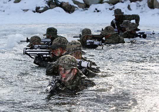 Những lực lượng uy mãnh của hải quân Hàn Quốc ảnh 6