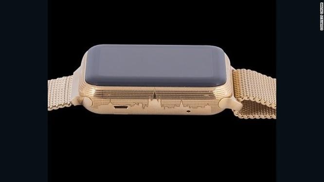 Ngắm Apple Watch chạm trổ chữ ký Putin giá 3.000 USD ảnh 2