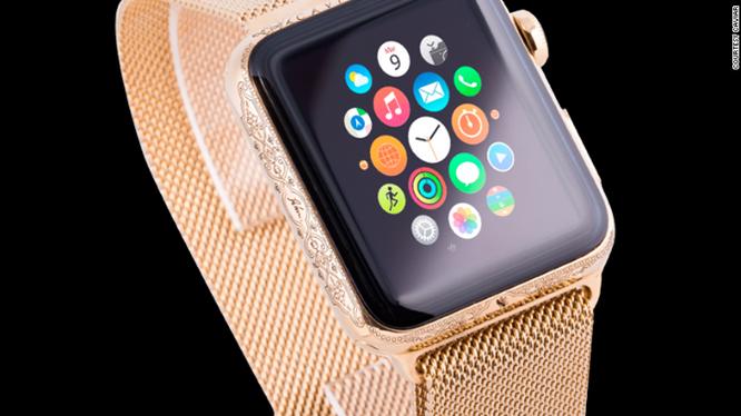 Ngắm Apple Watch chạm trổ chữ ký Putin giá 3.000 USD ảnh 4