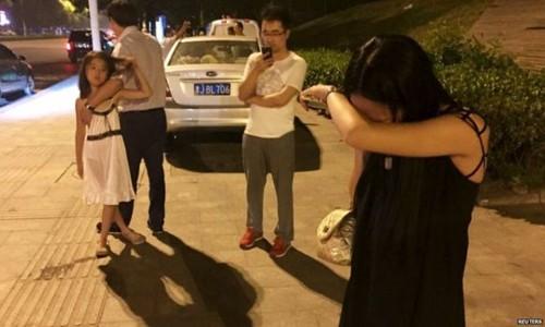 Nhân chứng kể về vụ nổ 'long trời lở đất' ở Trung Quốc ảnh 1