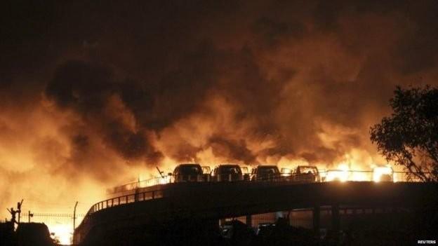 Nổ lớn ở Thiên Tân: ít nhất 13 người chết, 250 bị thương ảnh 3