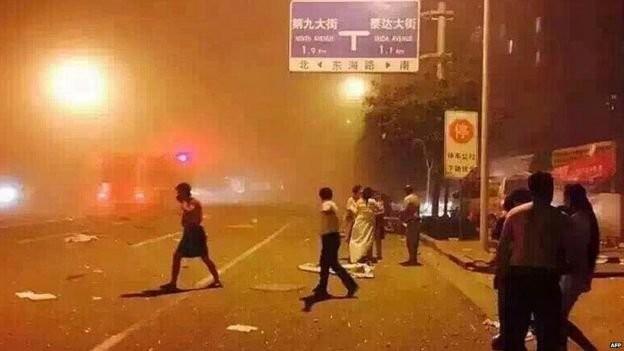 Nổ lớn ở Thiên Tân: ít nhất 13 người chết, 250 bị thương ảnh 1