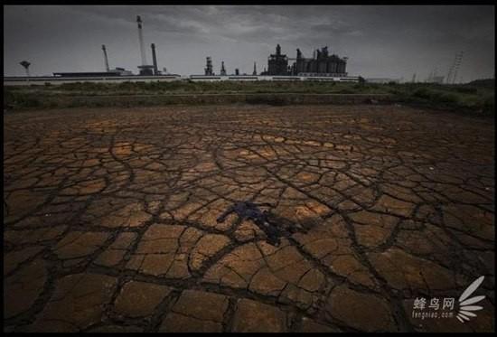 Chùm ảnh thảm họa môi trường khủng khiếp ở Trung Quốc ảnh 14