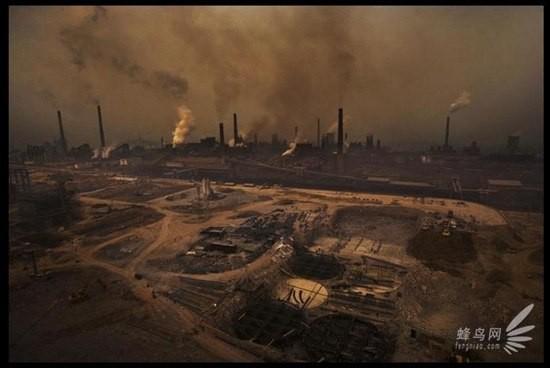 Chùm ảnh thảm họa môi trường khủng khiếp ở Trung Quốc ảnh 17