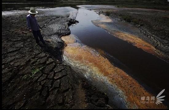 Chùm ảnh thảm họa môi trường khủng khiếp ở Trung Quốc ảnh 20