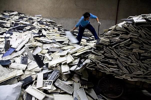 Chùm ảnh thảm họa môi trường khủng khiếp ở Trung Quốc ảnh 35