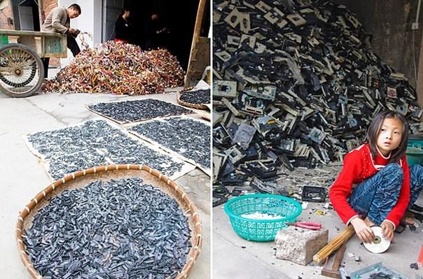 Chùm ảnh thảm họa môi trường khủng khiếp ở Trung Quốc ảnh 36