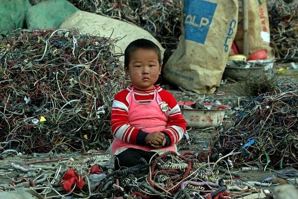 Chùm ảnh thảm họa môi trường khủng khiếp ở Trung Quốc ảnh 38