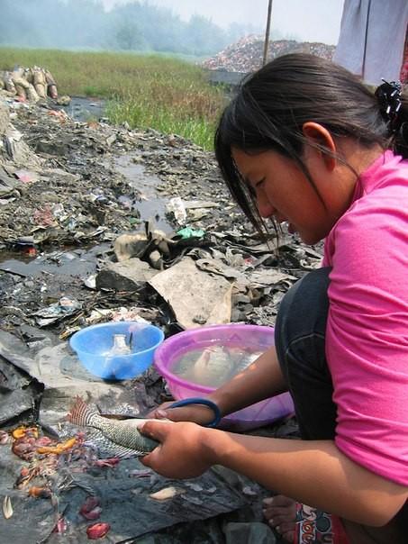 Chùm ảnh thảm họa môi trường khủng khiếp ở Trung Quốc ảnh 40