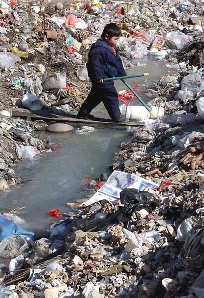 Chùm ảnh thảm họa môi trường khủng khiếp ở Trung Quốc ảnh 45
