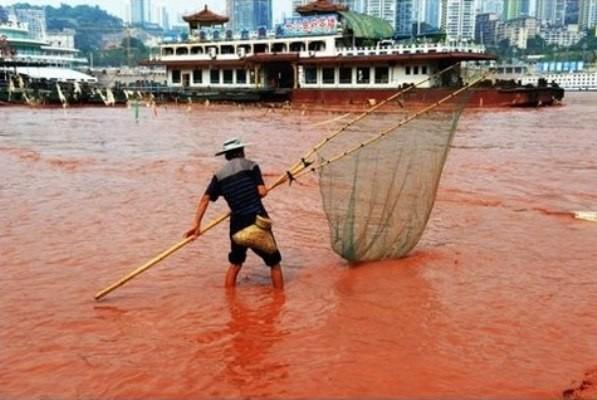 Chùm ảnh thảm họa môi trường khủng khiếp ở Trung Quốc ảnh 46