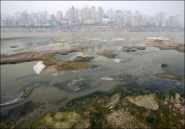 Chùm ảnh thảm họa môi trường khủng khiếp ở Trung Quốc ảnh 47