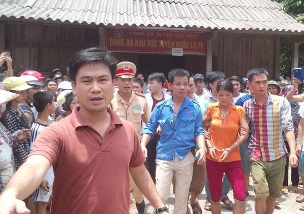 Nghi can gây thảm án ở Yên Bái bị bắt ảnh 16