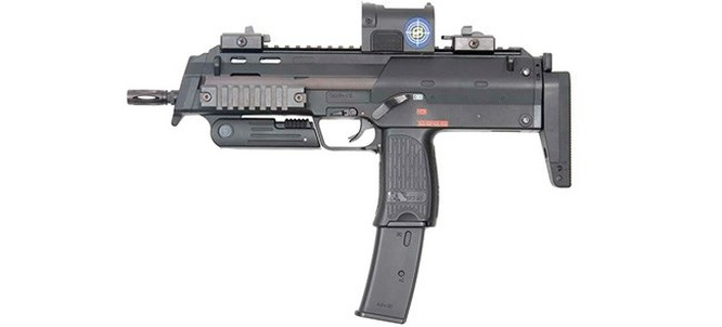 Vũ khí nguy hiểm dành cho khủng bố - súng tiểu liên cực ngắn Heckler & Koch MP7 ảnh 1