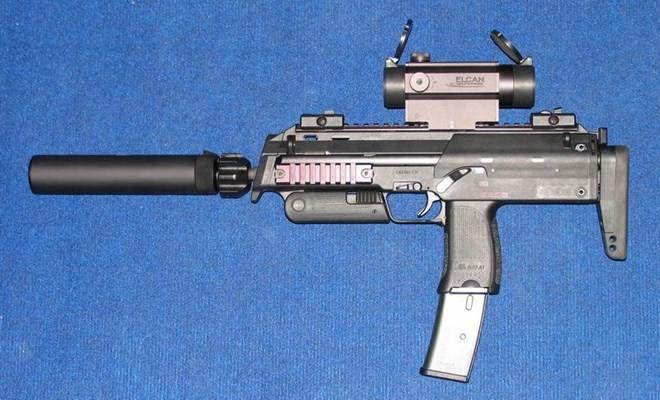 Vũ khí nguy hiểm dành cho khủng bố - súng tiểu liên cực ngắn Heckler & Koch MP7 ảnh 4