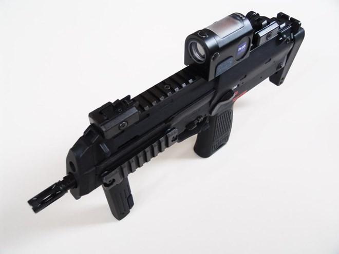 Vũ khí nguy hiểm dành cho khủng bố - súng tiểu liên cực ngắn Heckler & Koch MP7 ảnh 12