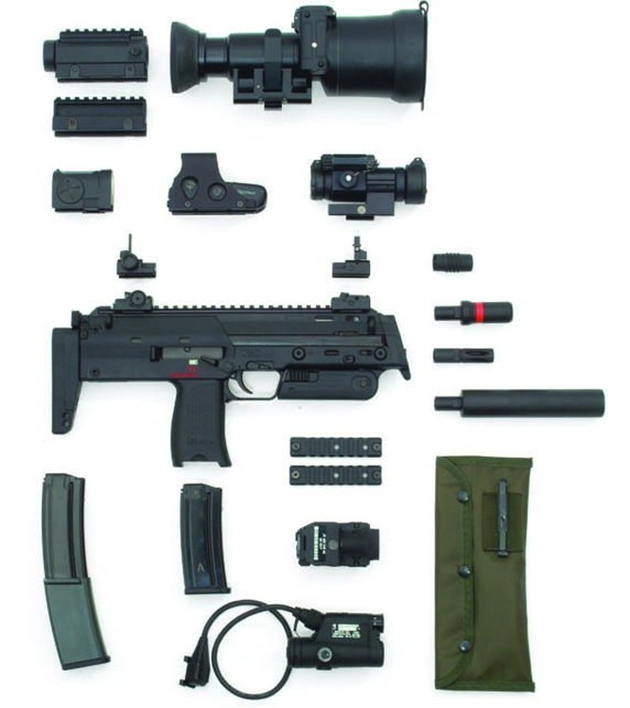 Vũ khí nguy hiểm dành cho khủng bố - súng tiểu liên cực ngắn Heckler & Koch MP7 ảnh 6