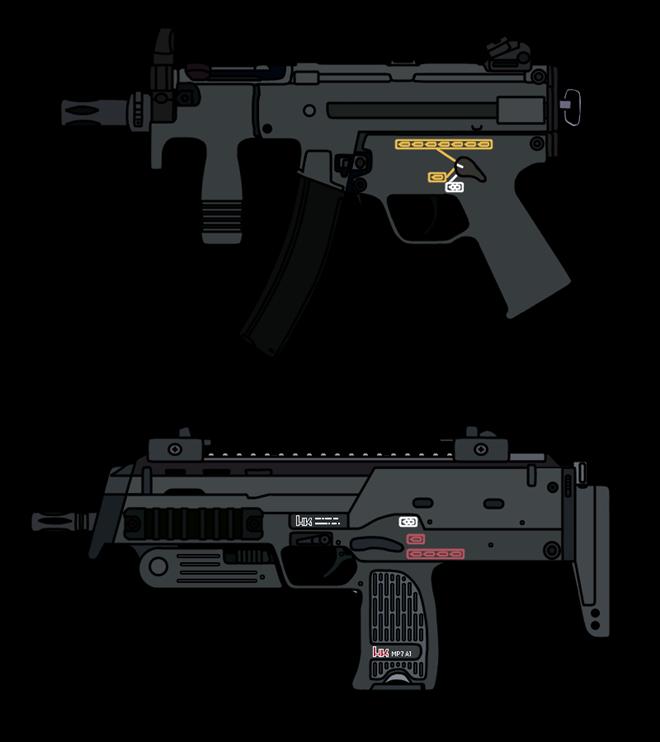 Vũ khí nguy hiểm dành cho khủng bố - súng tiểu liên cực ngắn Heckler & Koch MP7 ảnh 7