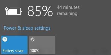 Mẹo tiết kiệm pin khi chạy Windows 10 ảnh 1