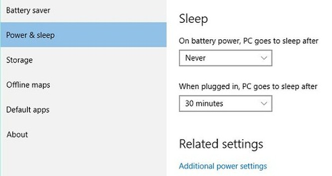 Mẹo tiết kiệm pin khi chạy Windows 10 ảnh 8