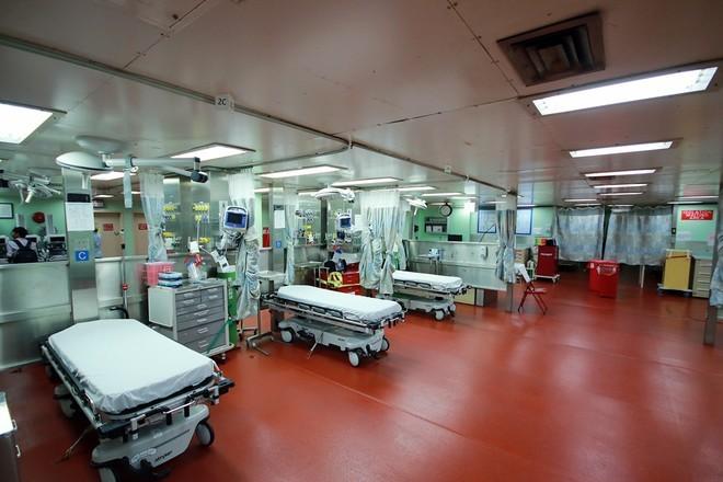 Bên trong tàu bệnh viện gần 1.000 giường của Hải quân Mỹ ảnh 3