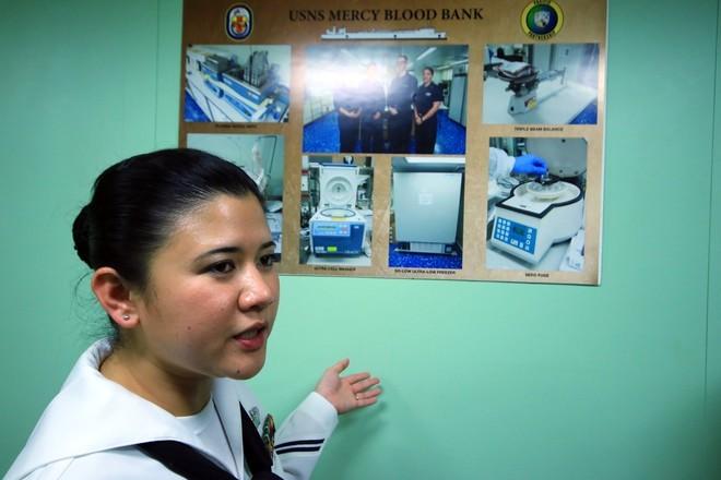 Bên trong tàu bệnh viện gần 1.000 giường của Hải quân Mỹ ảnh 8