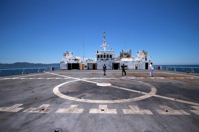 Bên trong tàu bệnh viện gần 1.000 giường của Hải quân Mỹ ảnh 11