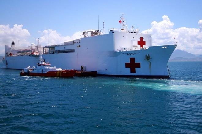 Bên trong tàu bệnh viện gần 1.000 giường của Hải quân Mỹ ảnh 1