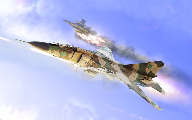 Chùm ảnh những huyền thoại công nghệ hàng không quân sự thế giới ảnh 37
