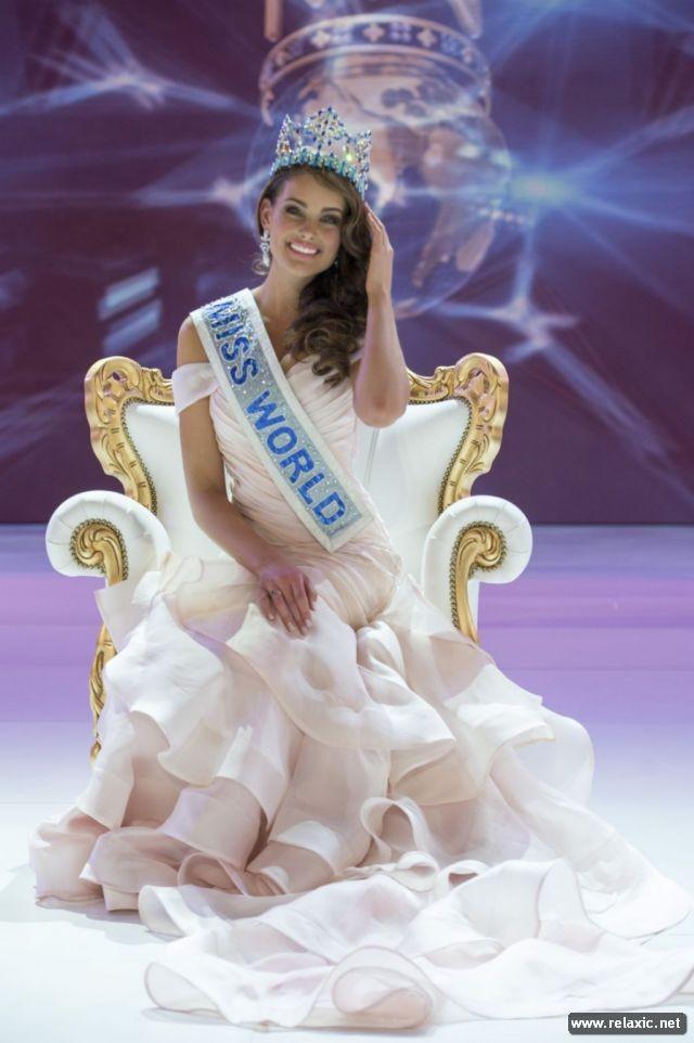 Chủ nhân vương miện Hoa hậu Thế giới 2014 qua ảnh ảnh 1
