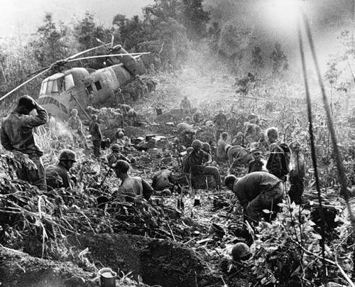 Cuộc chiến tranh Việt Nam qua ảnh của Henry Hyuet ảnh 15