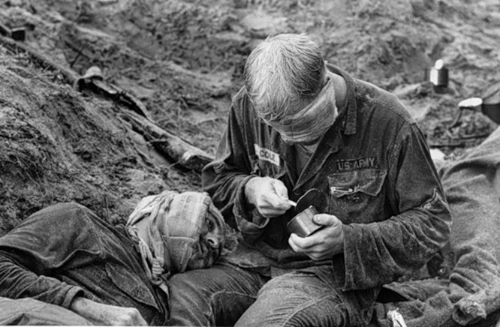 Cuộc chiến tranh Việt Nam qua ảnh của Henry Hyuet ảnh 16