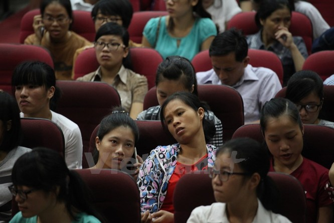 Mệt mỏi trong ngày cuối xét tuyển đại học nguyện vọng một ảnh 10