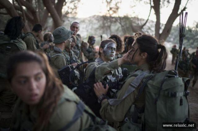 Những nữ quân nhân xinh đẹp Israel khiến giới mày râu cũng phải cúi chào ảnh 5