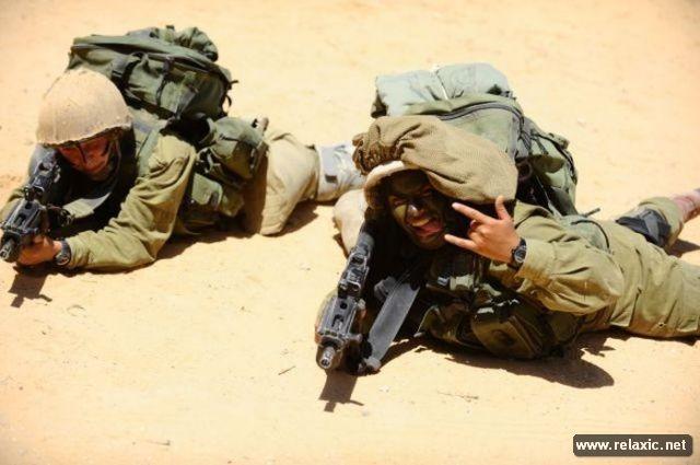 Những nữ quân nhân xinh đẹp Israel khiến giới mày râu cũng phải cúi chào ảnh 8