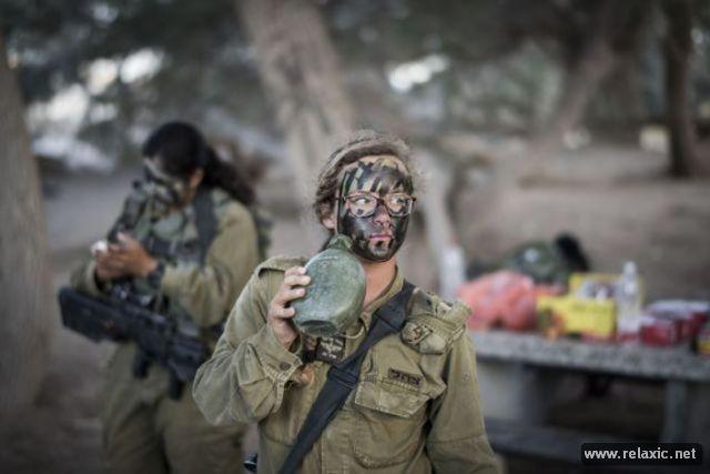 Những nữ quân nhân xinh đẹp Israel khiến giới mày râu cũng phải cúi chào ảnh 16