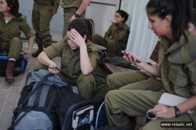 Những nữ quân nhân xinh đẹp Israel khiến giới mày râu cũng phải cúi chào ảnh 17