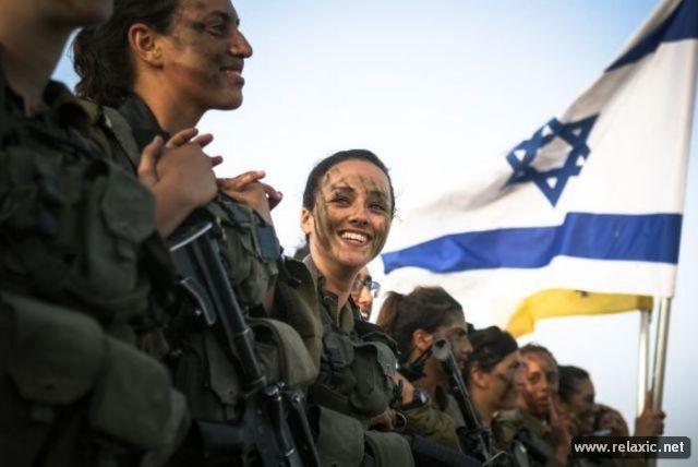 Những nữ quân nhân xinh đẹp Israel khiến giới mày râu cũng phải cúi chào ảnh 20