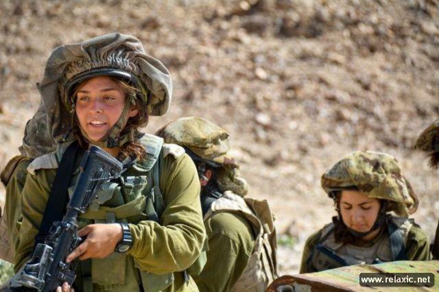 Những nữ quân nhân xinh đẹp Israel khiến giới mày râu cũng phải cúi chào ảnh 29