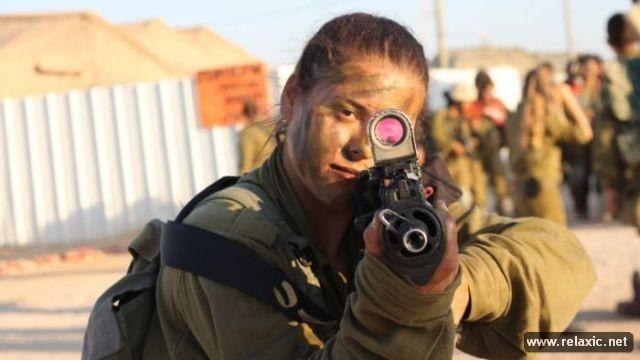 Những nữ quân nhân xinh đẹp Israel khiến giới mày râu cũng phải cúi chào ảnh 39